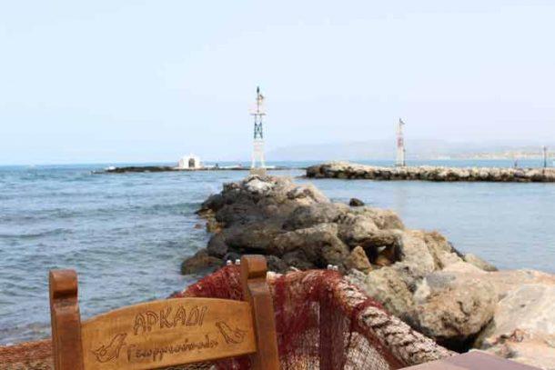 Trinken und Essen in Griechenland auf Kreta
