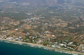 Agkisaras Luftaufnahme Kreta