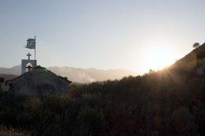 Landschaft Aposelemi-Schlucht Kreta