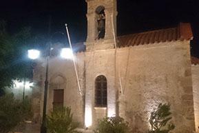 Kirche Panagia Galatiani in der Altstadt von Malia auf Kreta