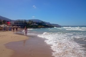 Strand in Malia