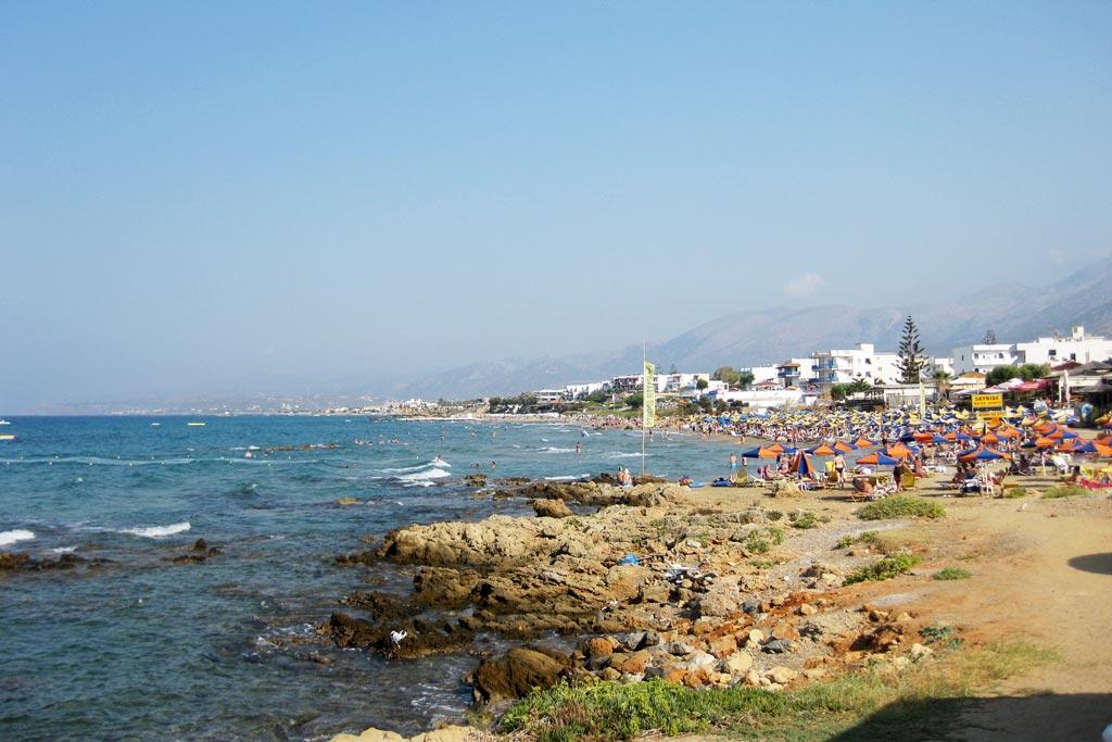 Kreta Karte Stalis.Stalis Kreta Reiseguru