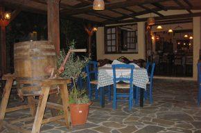 Taverne in Malia auf Kreta