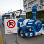 "Agios Nikolaos Bimmelbahn ""Blue Train"""