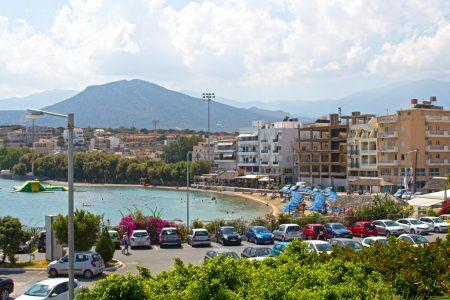 Ammos Beach und Municipal Beach Agios Nikolaos