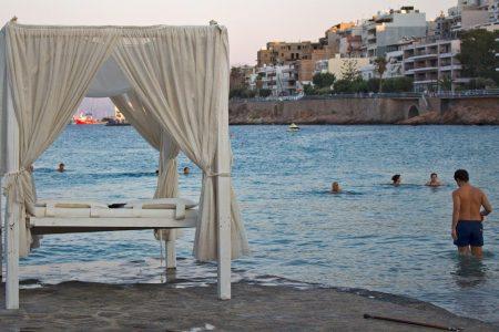 Ammoudi Beach Agios Nikolaos Stadtstrand