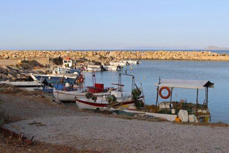 Fischerhafen Kolymvari