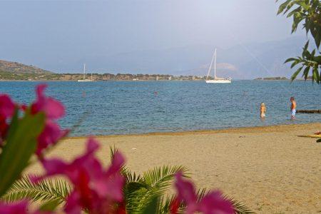 Strand von Elounda