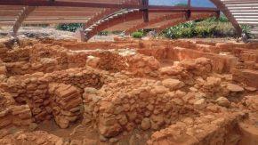 Ausgrabungen der Minoer bei Malia auf Kreta