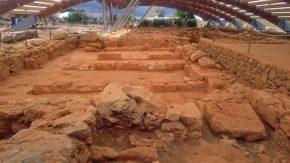Ausgrabungsstätte Malia auf Kreta