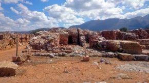 Palastanlage von Malia auf Kreta