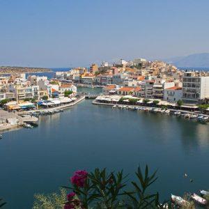 Postkartenmotiv Kreta Voulismeni See