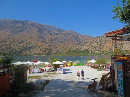 Kournas See auf Kreta