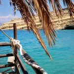 Impression vom Matala Beach Festival auf Kreta
