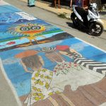 Street Painting in Matala