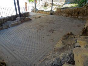 venezianisches Mosaik in Argyroupoli auf Kreta