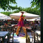 Unterhaltung beim Matala Beach Festival auf Kreta