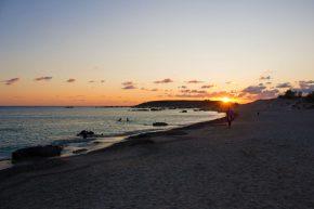 Elafonissi Sonnenuntergang