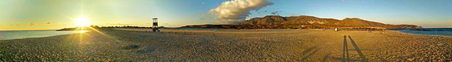 Strand Elafonissi auf Kreta